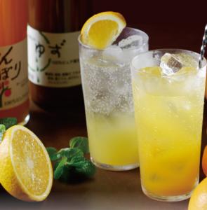 業務用柑橘果汁  割材(飲食店向け)